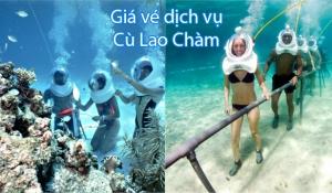 Bảng giá vé dịch vụ Cù Lao Chàm